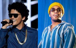 ¡Tremenda dupla! Bruno Mars y Anderson .Paak unirán fuerzas en Silk Sonic