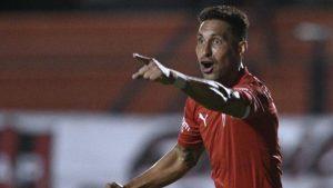 Estreno goleador: Juan Manuel Insaurralde anotó el único gol en la victoria de Independiente ante Patronato