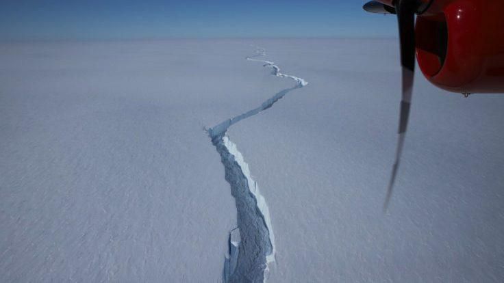 Iceberg más grande que Nueva York se desprendió en la Antártida