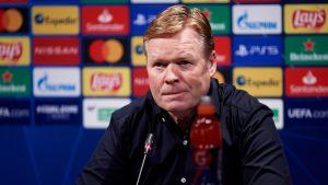 No le sale nada: Ronald Koeman abandonó la rueda de prensa por una hemorragia nasal que preocupó en Barcelona