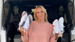 """Angelina Hix, reciente fichaje de Santiago Morning Femenino dijo que el fútbol chileno """"es más técnico y con mucha posesión"""""""