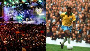 """En """"Deportes con Historia"""": Un guiño al Festival de Viña y la llegada del documental de Pelé"""
