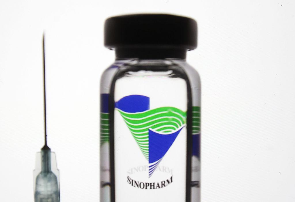 Imagen referencial de la vacuna Sinopharm