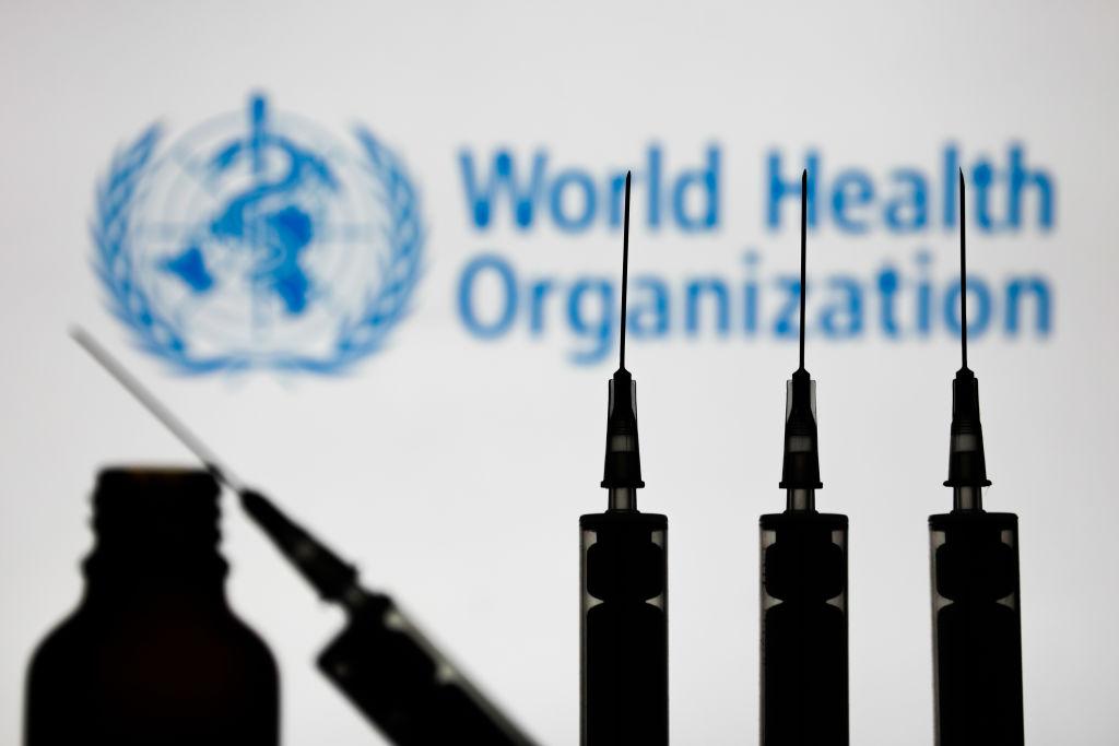 Una imagen referencial de la OMS en plena pandemia