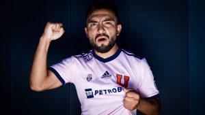 """Mario Sandoval y sus objetivos en la """"U"""": """"Quiero tratar de seguir los pasos de Charles Aránguiz y ser un referente en este equipo"""""""