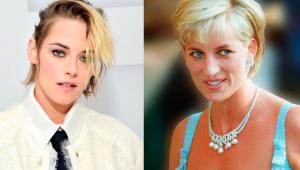 Usando clásico abrigo: filtraron nuevas fotos de Kristen Stewart como Lady Di en película dirigida por Pablo Larraín