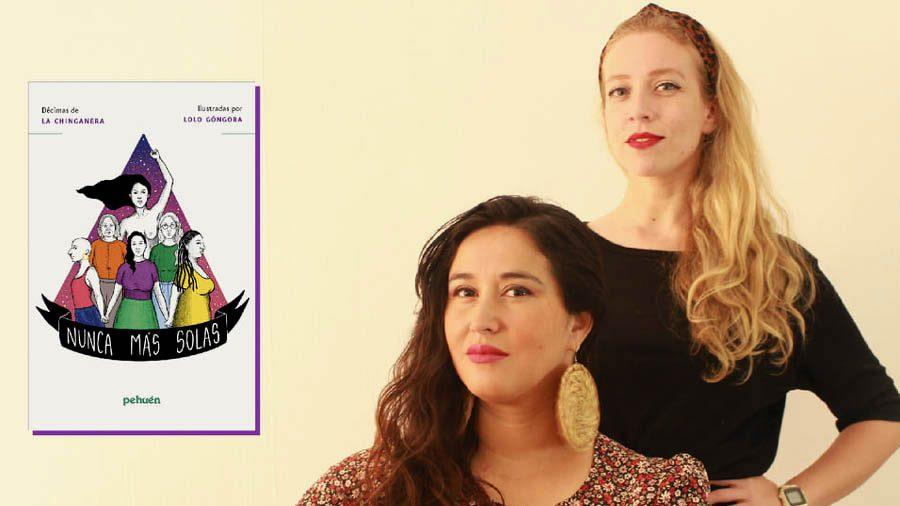 La Chinganera presentó su nuevo libro en Nuestro Canto