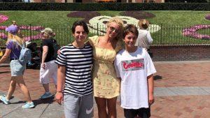 """""""Soy muy afortunada"""": Britney Spears compartió fotografía junto a sus dos hijos"""