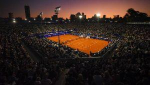 Así se verá la cancha principal del Chile Open sin público