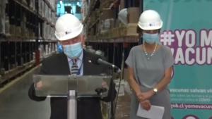 Ministro Paris y subsecretaria Daza se emocionaron al evaluar un año de la pandemia del coronavirus en Chile