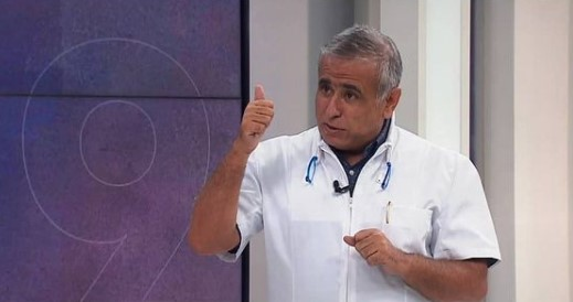 Doctor Ugarte advirtió una eventual tercera ola de coronavirus en el país para fines de marzo