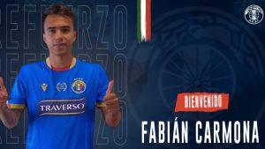 Fabián Carmona es el séptimo refuerzo de Audax Italiano para el 2021