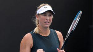 Alexa Guarachi no pudo repetir su última actuación y quedó eliminada en dobles del Torneo de Doha