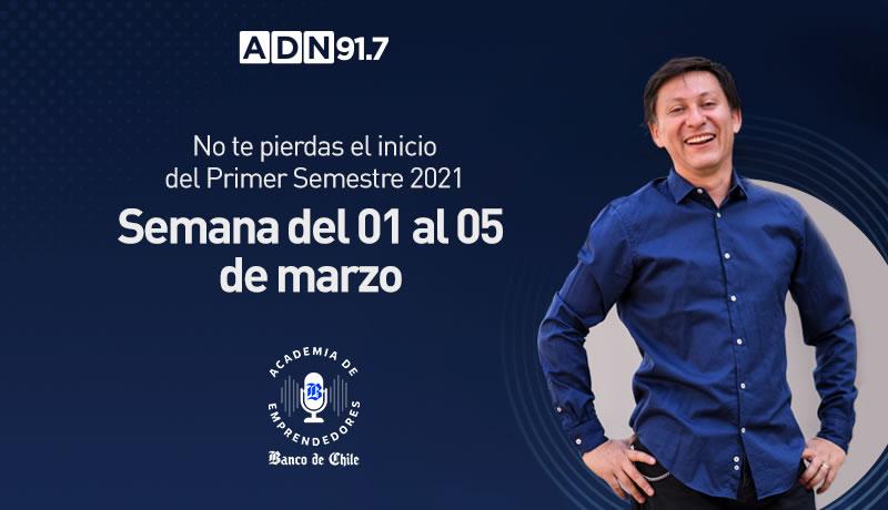Así comienza el Primer Semestre 2021 para los alumnos de la Academia de Emprendedores Banco de Chile