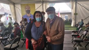 """No he tenido ninguna molestia"": Fernando Pinacho, que escapó de la Guerra Civil Española, recibió la segunda dosis de la vacuna contra el Covid-19"
