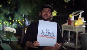 Max Cabezón lamió un plato en La Divina Comida y fue criticado en redes sociales