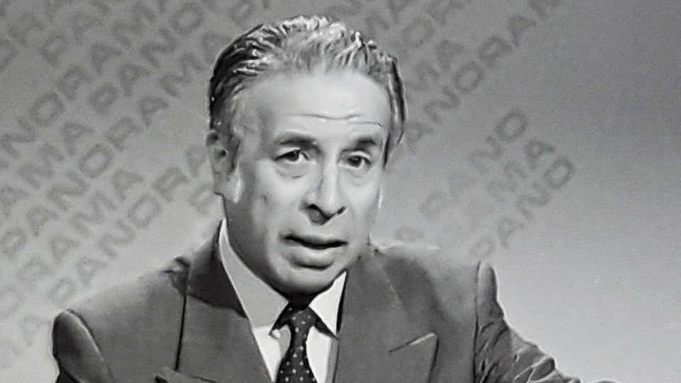 A los 89 años falleció Germán Gamonal, destacado periodista y comentarista político