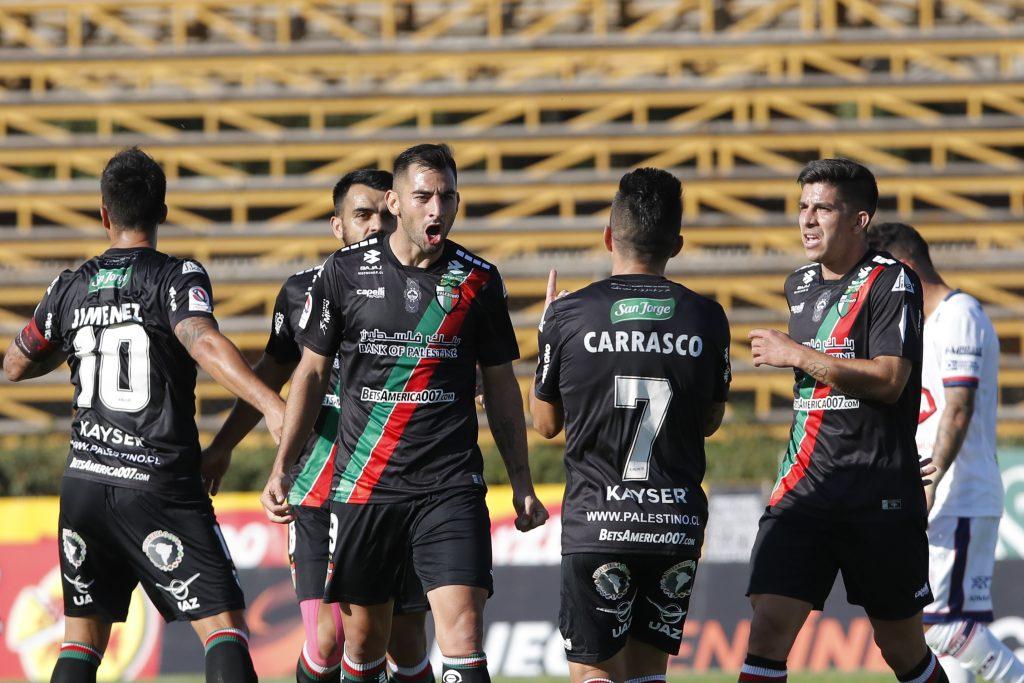 Palestino consiguió su primera victoria en el Torneo Nacional tras superar a Deportes Melipilla