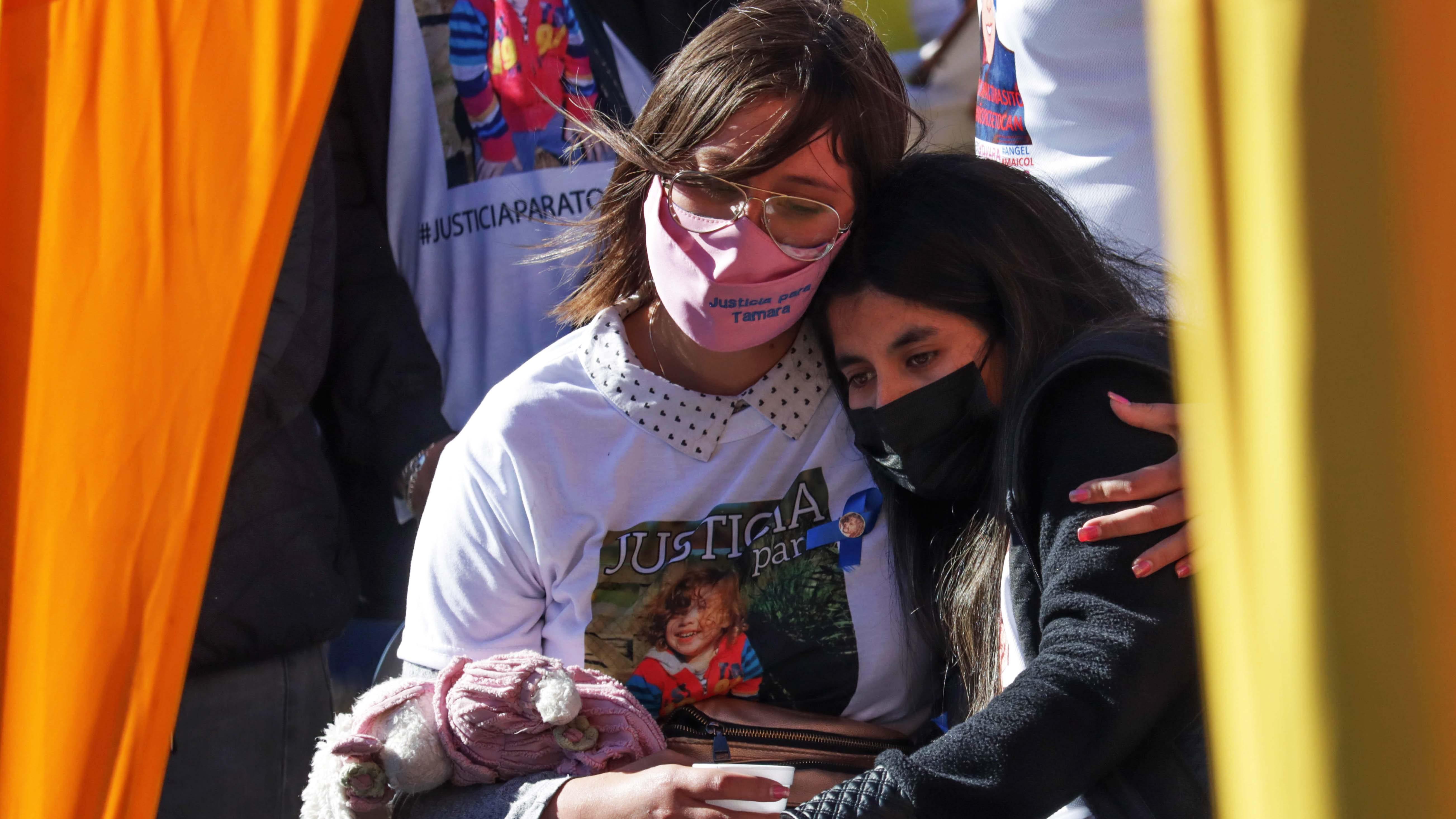 Camila Almonacid y Estefanía Gutiérrez