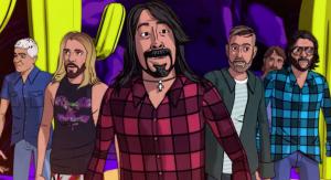 """Foo Fighters estrenó el videoclip animado de """"Chasing Birds"""", uno de sus recientes sencillos"""