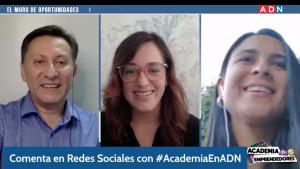 """Academia de Emprendedores: """"El Muro de Oportunidades"""" con Valentina González de Socialab"""