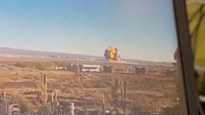 Violenta explosión se registró en planta de ácido Enaex de Calama