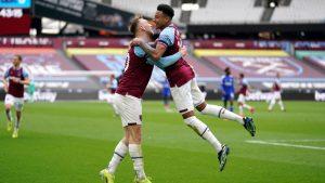 West Ham derrotó en un partidazo al Leicester y se metió en puestos de Champions League