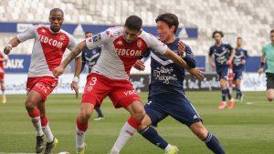 Con Guillermo Maripán titular, Mónaco goleó al Bordeaux y sigue en la pelea por el título de la Ligue 1