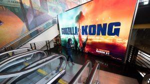 Godzilla vs. Kong se convierte en la película más taquillera de la pandemia