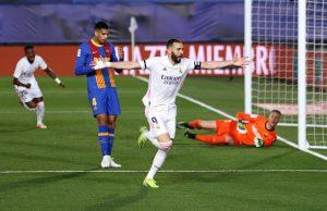 Real Madrid derrotó al Barcelona, se quedó con el clásico de España y tomó el liderato de La Liga