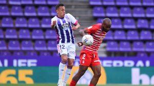 Fabián Orellana anotó en derrota de Real Valladolid ante el Granada en el fútbol español