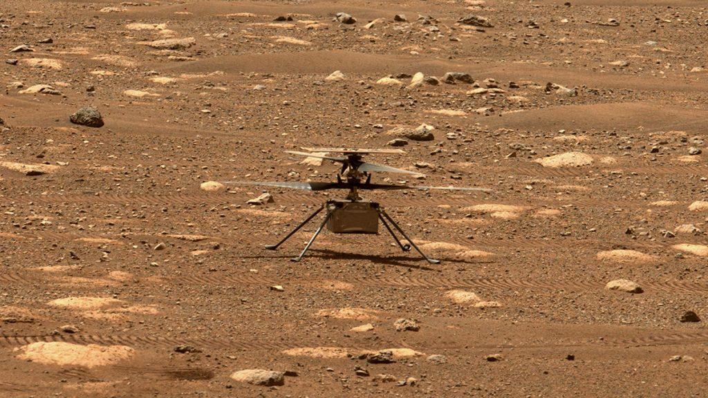 NASA retrasó por al menos tres días el vuelo de Ingenuity en Marte