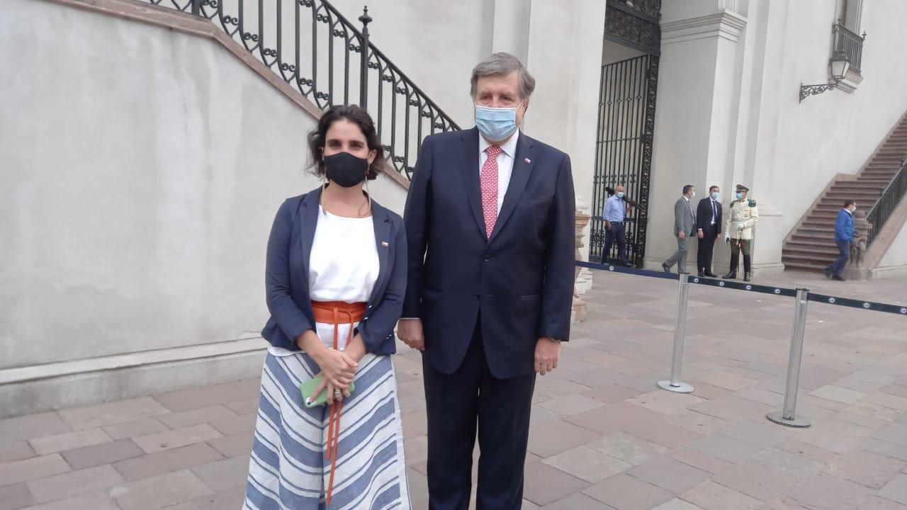 María José Zaldívar y Patricio Melero