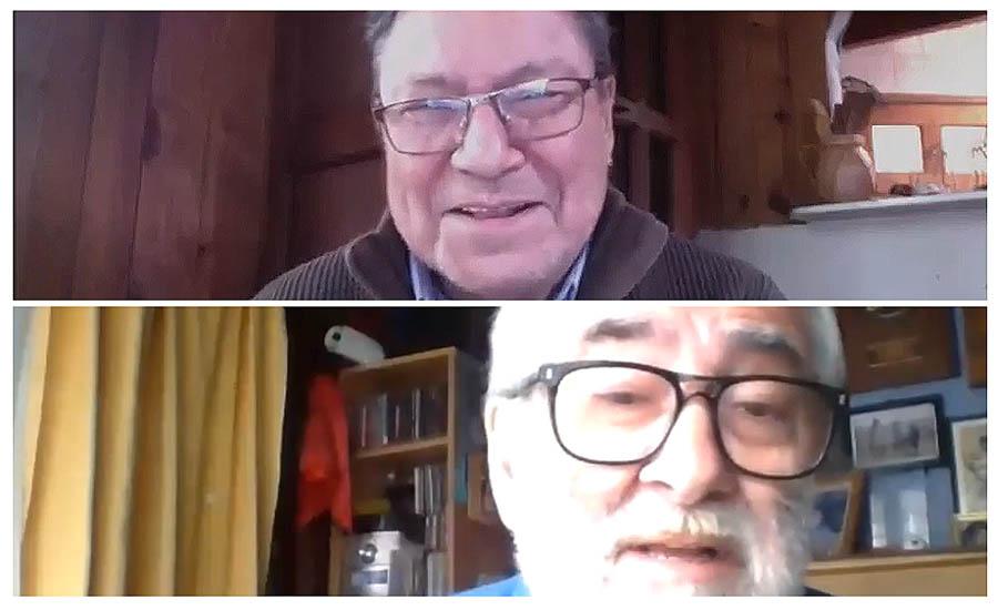 """En Nuestro Canto: José Seves y Jorge Negrón contaron la historia de """"La Peña de la UTE de Valdivia"""""""