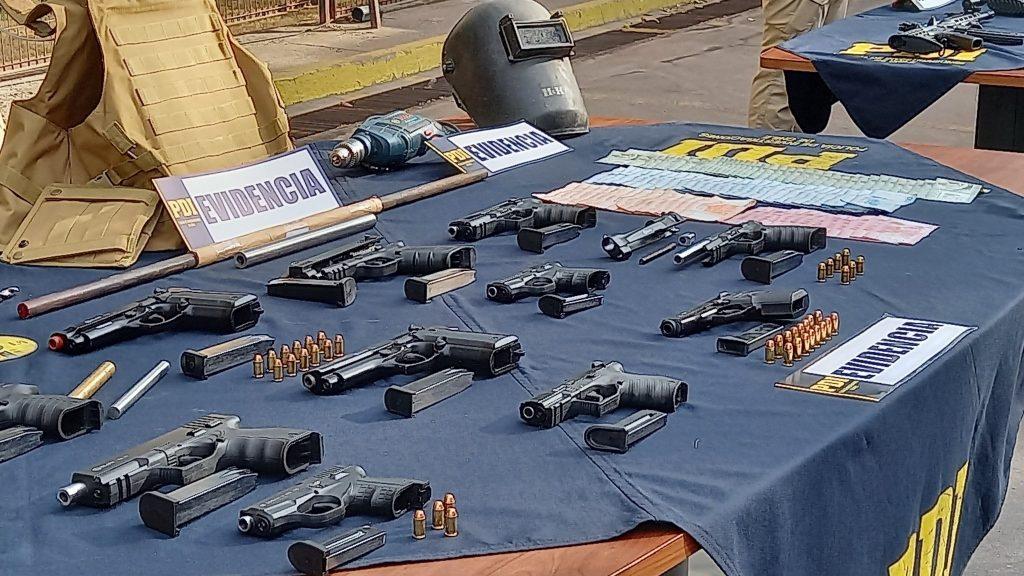 Desarticularon banda criminal dedicada a la modificación de armas de fogueo: las vendían a grupos delictuales