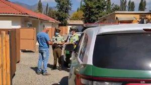 Sorprendieron a 14 personas al interior de un motel en la región de O'Higgins: todos fueron detenidos