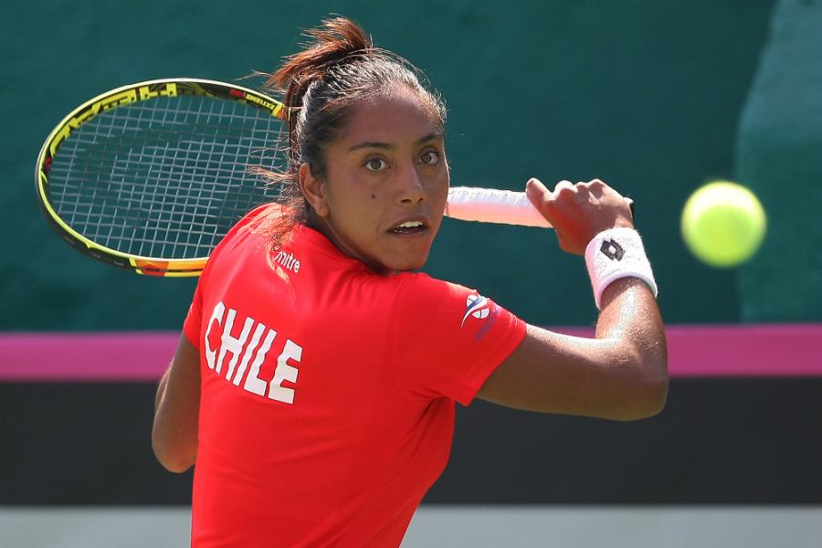 Daniela Seguel se anotó un gran triunfo en la primera ronda de la qualy del WTA 250 de Belgrado