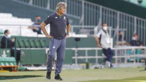 """Pellegrini tras clasificar a la Conference League: """"La temporada no está terminada"""""""