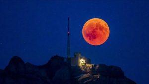 Superluna de sangre, el evento astronómico que se podrá ver en Chile el próximo 26 de mayo