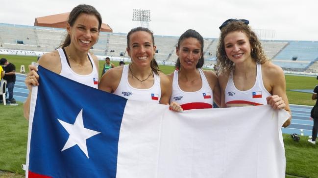 El Team Chile vuelve con ocho medallas, dos de oro, desde el Sudamericano de Atletismo de Ecuador
