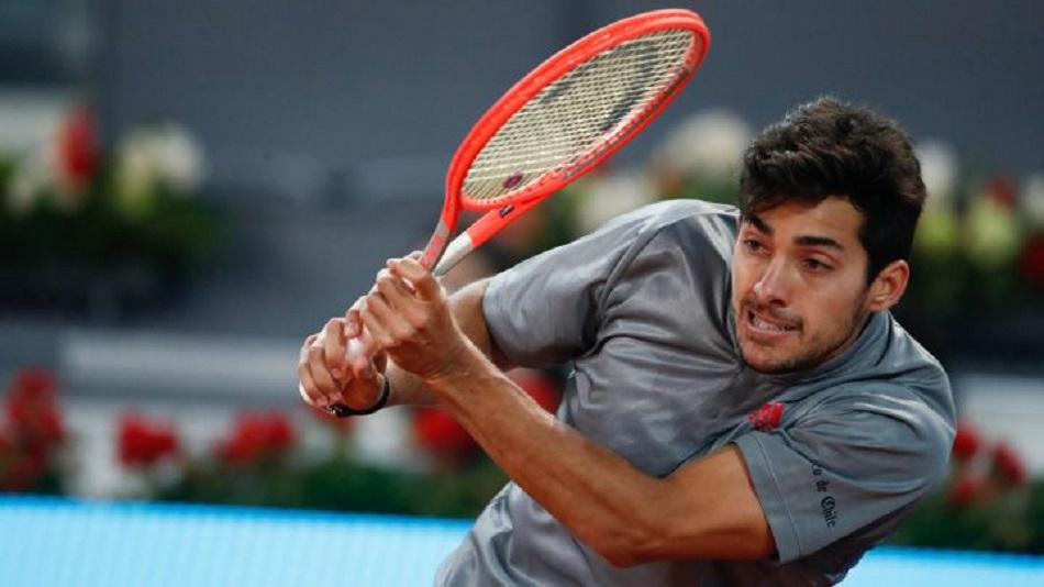 Cristian Garin tuvo todo para ganarle a Matteo Berrettini, pero se fue del partido y terminó cayendo por 6-0 en el tercer set