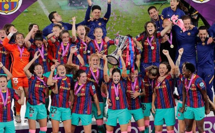 A lo grande: El Barcelona goleó al Chelsea y obtuvo su primera Champions League femenina