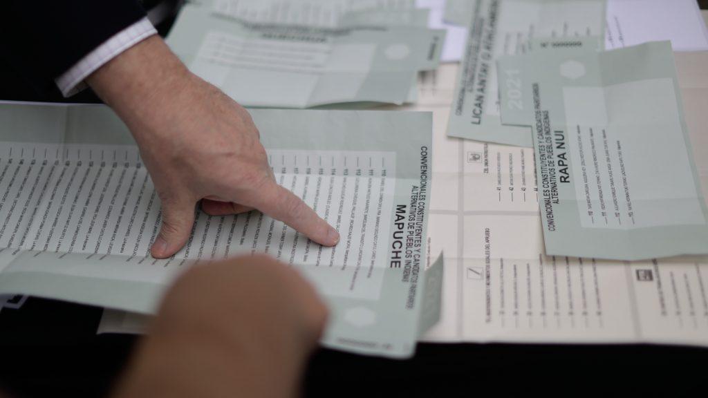 El voto verde: Así es la cédula que recibirán los miembros de los pueblos originarios en las elecciones del 15 y 16 de mayo