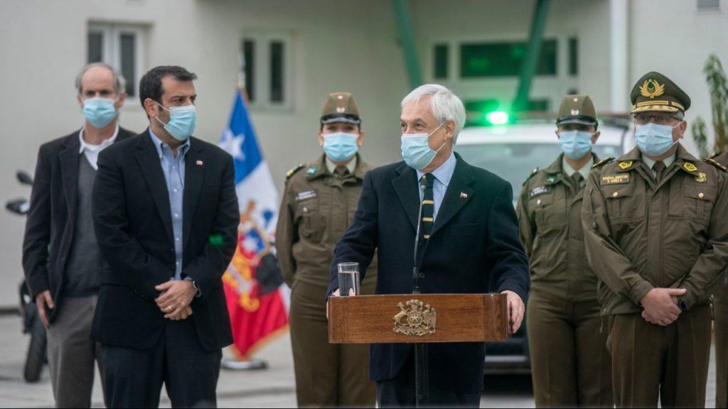 Detienen a sujeto en Cauquenes por desórdenes durante actividad del Presidente Piñera