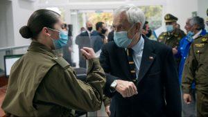 """""""Necesario y urgente"""": Presidente Piñera llamó a apurar aprobación de Estatuto de Protección de Carabineros"""