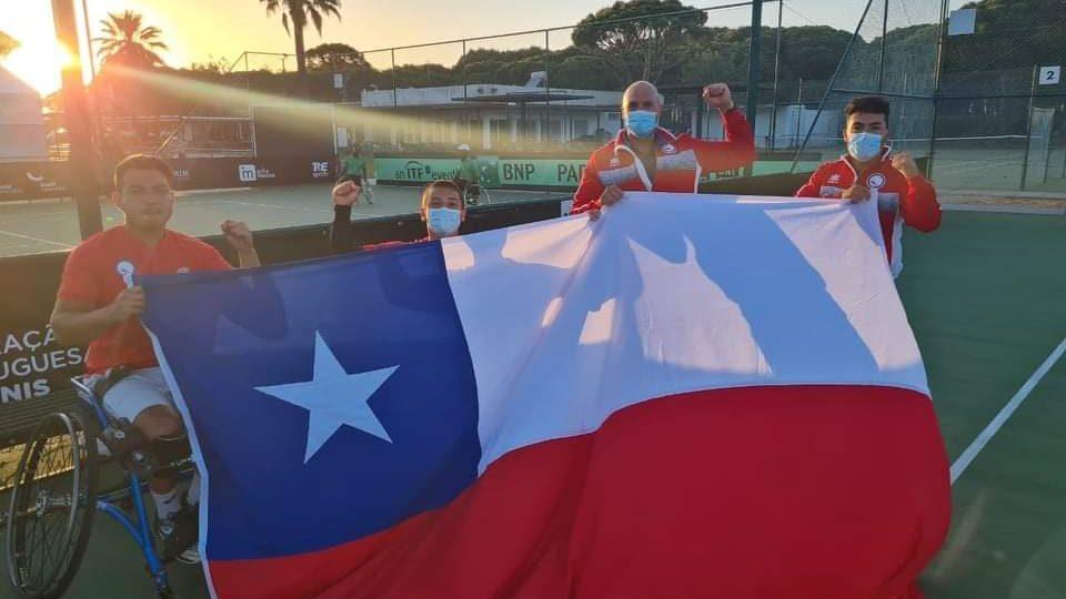 ¡Gigantes! Chile superó a Australia y se clasificó al Mundial de Tenis en Silla de Ruedas