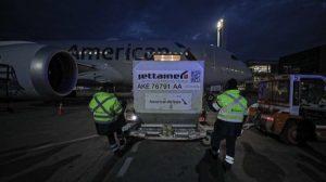 Llegó a Chile nuevo cargamento con más de 270 mil vacunas contra el covid-19 de Pfizer