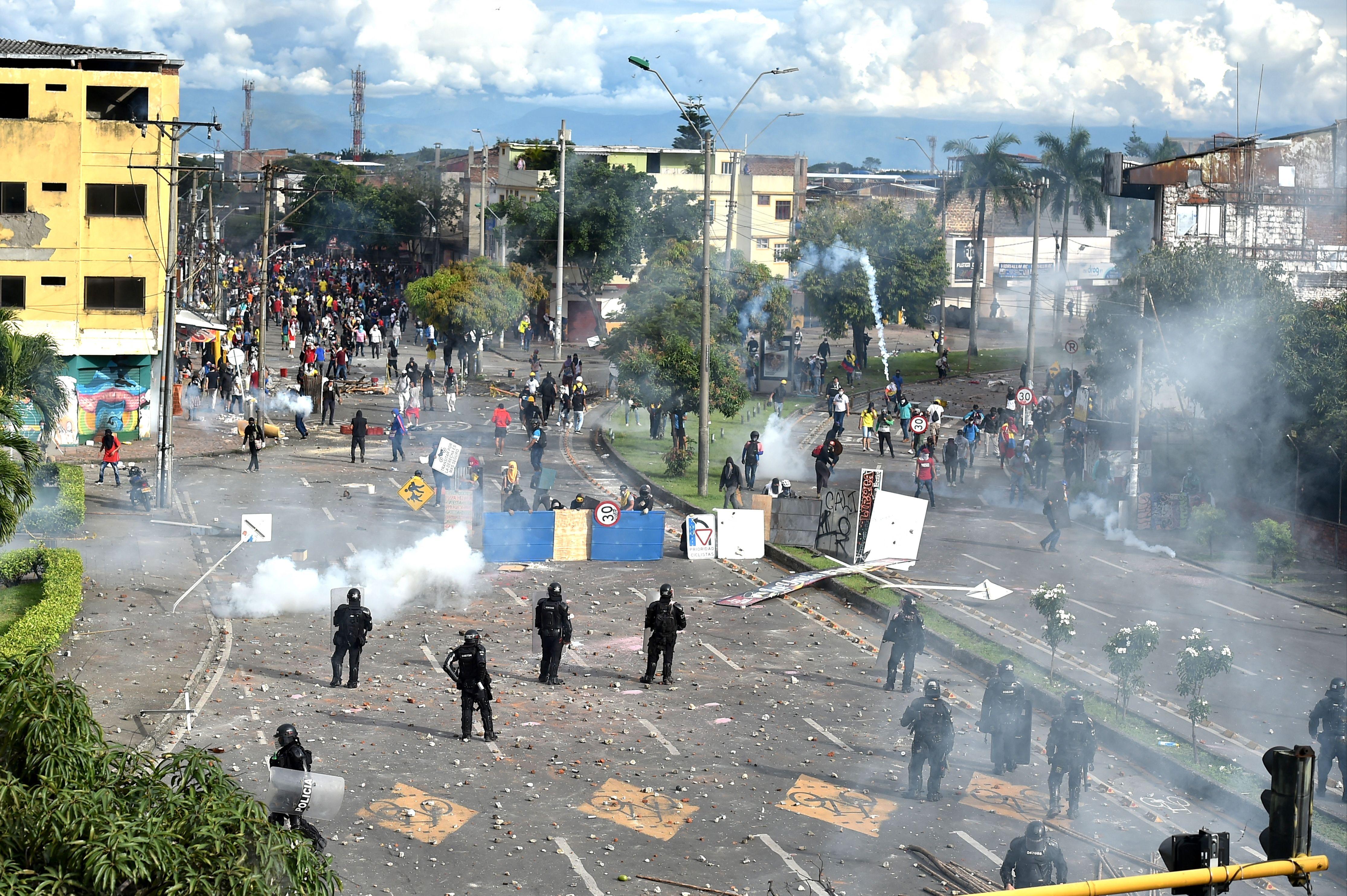 Incidentes en Colombia