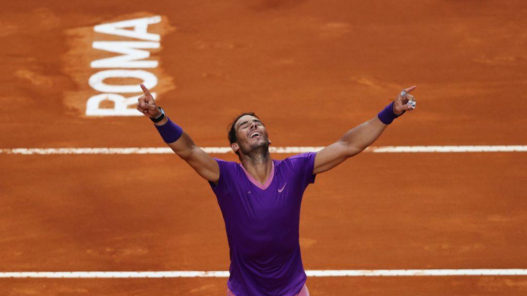¡Gigante!: Rafael Nadal venció a Novak Djokovic y se proclamó campeón del Masters 1.000 de Roma