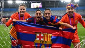"FC Barcelona histórico: Primer club en ganar la ""Champions"" femenina y masculina"